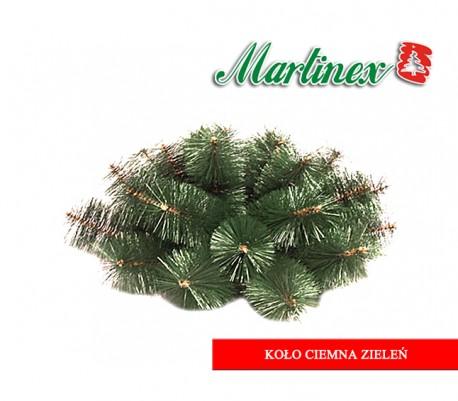 Koło ciemna zieleń - śr. 78cm