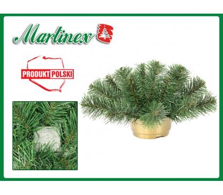 Doniczka zielona - średnica 43 cm